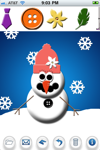 Screenshot Snowman HD